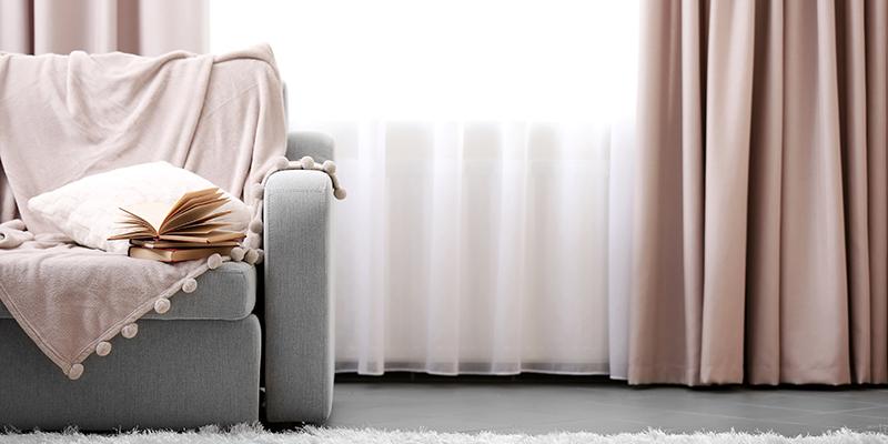 vorh nge und dekoschals g nstig online kaufen bettw sche. Black Bedroom Furniture Sets. Home Design Ideas