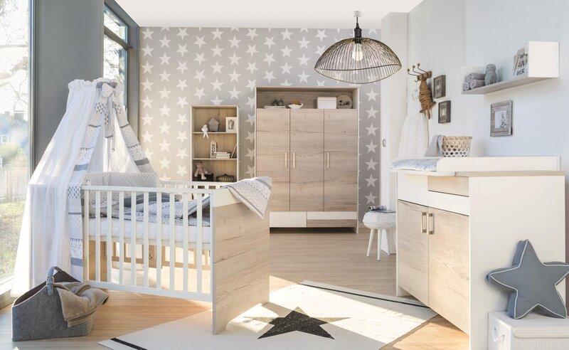 Schardt Babyzimmer 'Clou Oak'