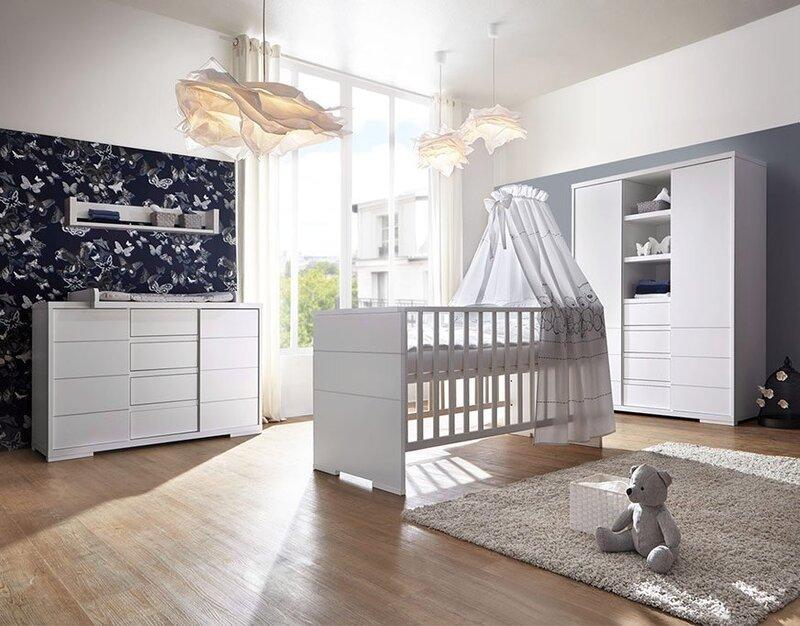 Schardt Sparset Babyzimmer 'Maxx White'