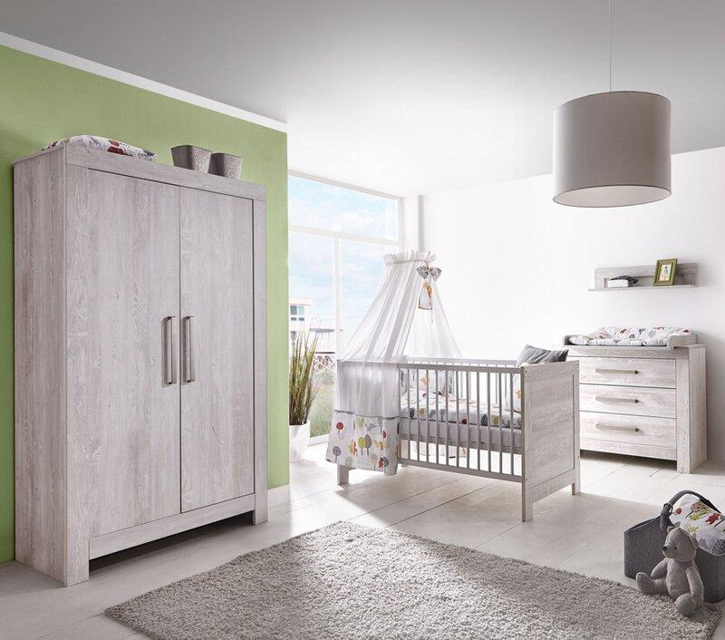 Schardt Babyzimmer komplett 'Nordic Cascina'