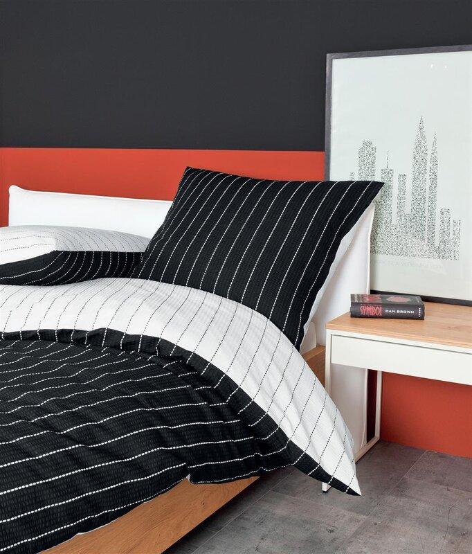 bettwsche 135x200 baumwolle gnstig top janine baumwoll seersucker wende bettwsche teilig. Black Bedroom Furniture Sets. Home Design Ideas