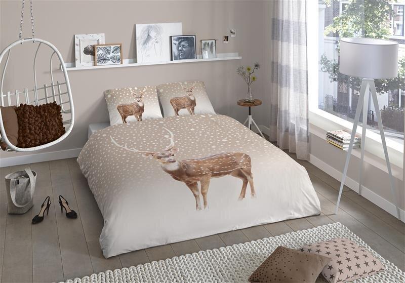 biber bettwasche hirsch. Black Bedroom Furniture Sets. Home Design Ideas