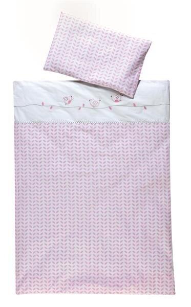 Schardt Bettbezug und Kopfkissenbezug 'Lovely Birds'