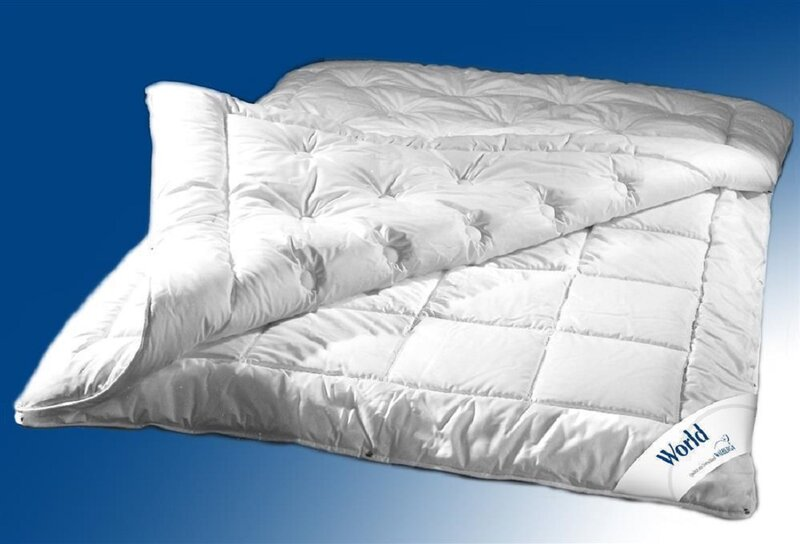 Walburga Bettdecke Steppbett World Perkal Super Fill 1 5 Wp Vier Jahreszeiten 200 X 200 Cm Sommerlich Leicht Bis Extra Warm