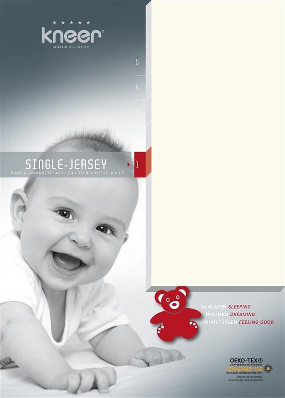 Kneer Single-Jersey-Spannbetttuch in 60 Farben und Größen