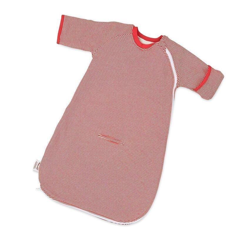 Hoppediz Babyschlafsack mit Gurtschlitz gestreift